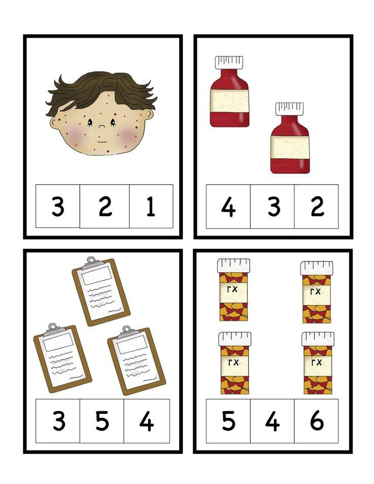 Worksheets For Office : Doctors visit printable preschool printables community