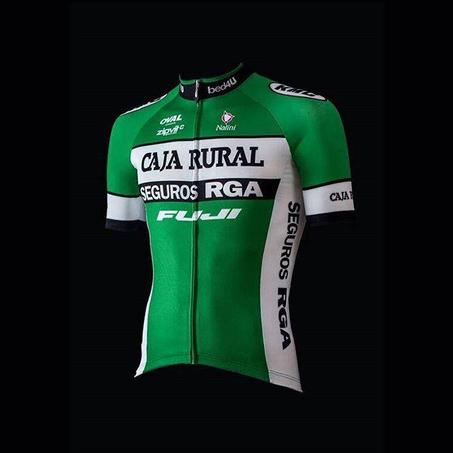 Dres týmu Caja Rural pro nyní už letošní sezónu. / Team Caja Rural kit for this years season #cyklistika #nakole #kolo #zavody #sport #design #dres #cycling #jersey #kit #spain #spanish #team #roadcycling #czech #dresblog