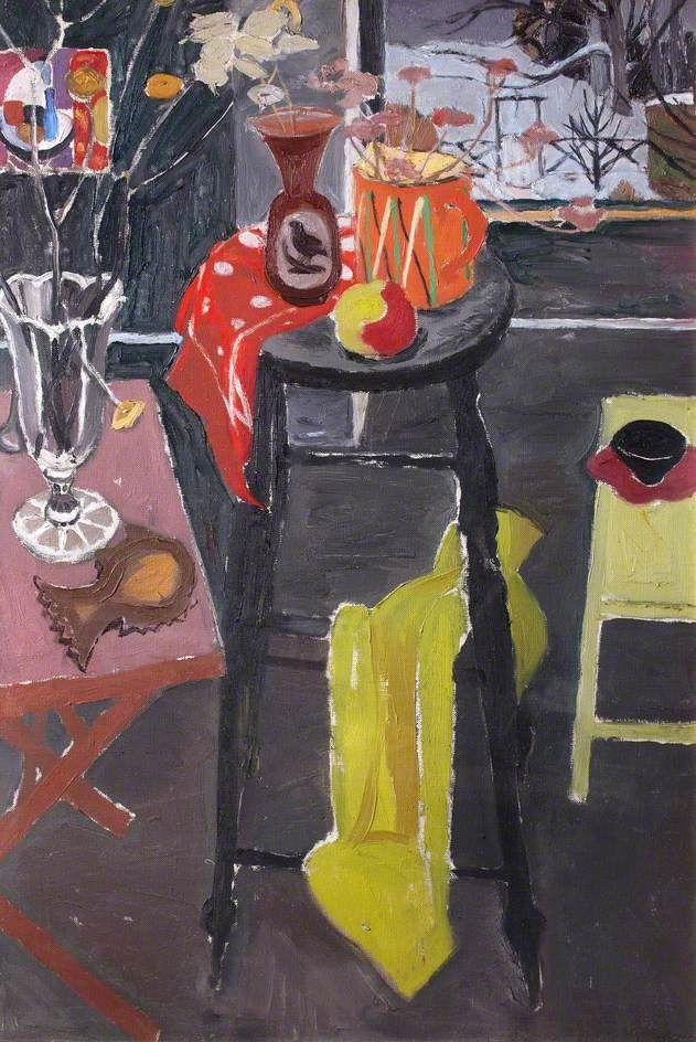 Studio Table by William Gillies (Scottish 1898–1973)