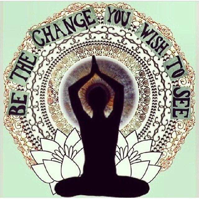You Must Be the Change You Want to See in the World #spiritual #spirituality #lifepurpose #inspiration  #consciousness #lawofattraction #loa #spreadthelove #highermind #heart #soul #happiness #powerthoughtsmeditationclub @powerthoughtsmeditationclub