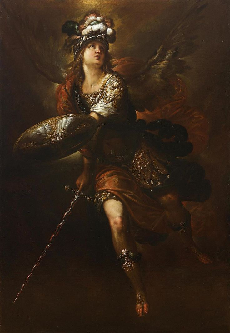Ercole Procaccini il Giovane, Saint Michael the Archangel, 17th century: