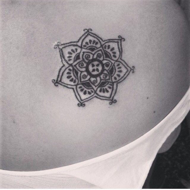 #flower #mandala #tattoo