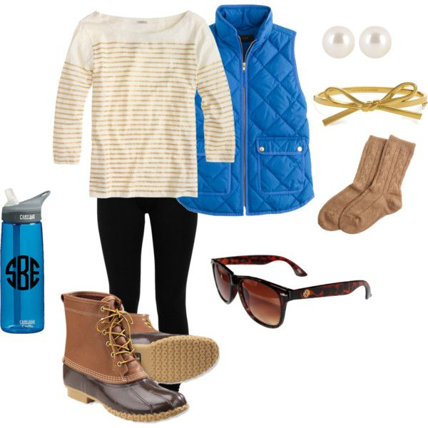 """Wardrobe Essentials: J.crew Vest"" by savannahprep on Polyvore"