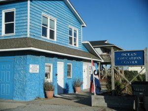 Oak Island Ocean Education Center - Oak Island NC - North Carolina Beaches: Beach Vacation and Relocation Planning Guide to Oak Island NC an...