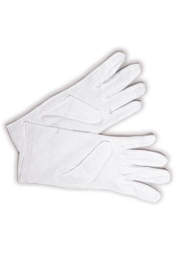 Guanti per Cameriere Guanti in tessuto 100% cotone, elasticizzato che ben si adatta ad ogni tipo di mano. Ottima traspirazione e presa antiscivolo. Taglia unica disponibili nel colore BIANCO.