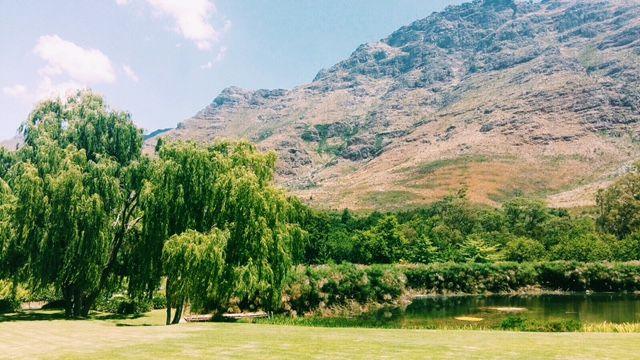 Stellenbosch mountains #nature