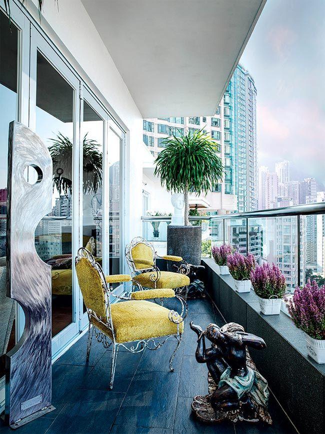 El piso perfecto en Hong Kong de la interiorista Jenny-lyn Hart · A perfect home in Hong Kong