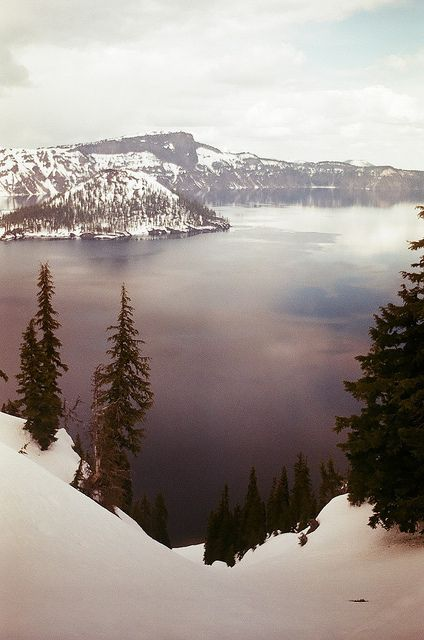 winter ii: Winter, Mountain, Dreams, Crater Lakes Oregon, Beautiful, Magic Places, National Parks, Travel, Photography