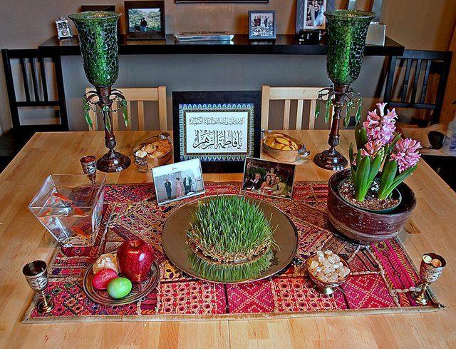 Persian New Year Altar