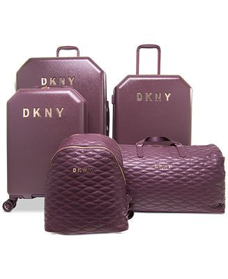 52ac0f66db3 DKNY Allure Luggage Collection, Created for Macy s - Luggage Collections -  Macy s