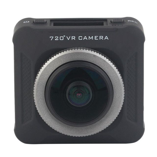 SDW720 Action Camera 360 Degree 4K 2448*2448 Full Visual Angle Action VR Camera Recorder Compatible for iOS and for Android