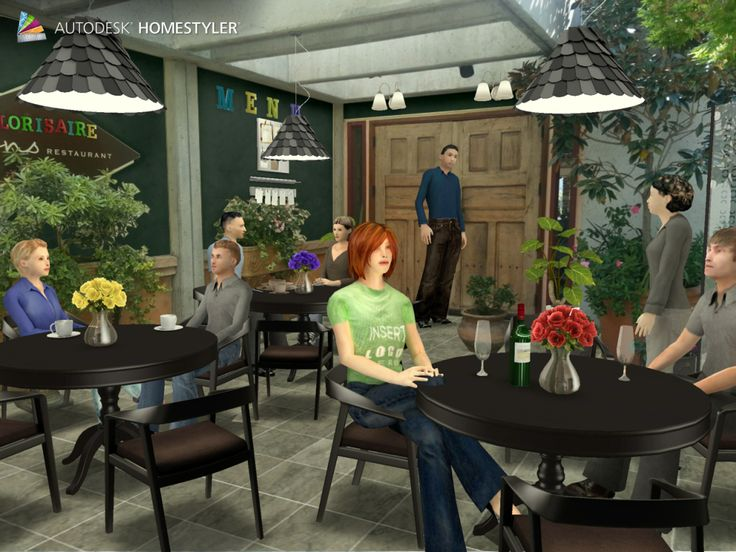"""Check out my #interiordesign """"Restaurant"""" from #Homestyler http://autode.sk/1lJULkp"""