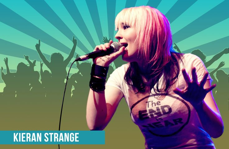 Northwest Fan Fest is thrilled to announce that Kieran Strange, the geek-crowned queen of punk music, will be attending all 3 days of Northwest Fan Fest as our special guest!
