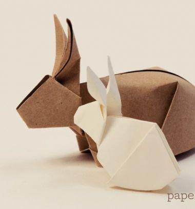 Origami bunny ( rabbit)  -