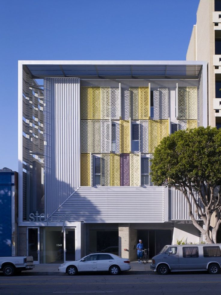 Step Up On Fifth Brooks Scarpa Facades And Architecture - A step up in amazing architecture la
