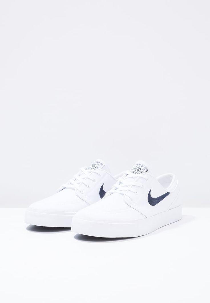 Nike SB ZOOM STEFAN JANOSKI CNVS - Sneakers - white/obsidian - Zalando.se