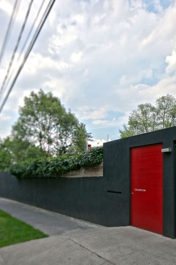 Seceuroglide insulated sectional garage door georgian cassette -  Casa Calero Dcpp Arquitectos M Xico City