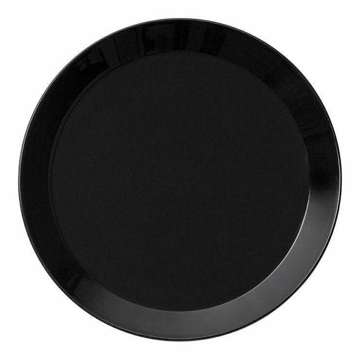 Iittala Teema Lautanen, 17 cm Musta