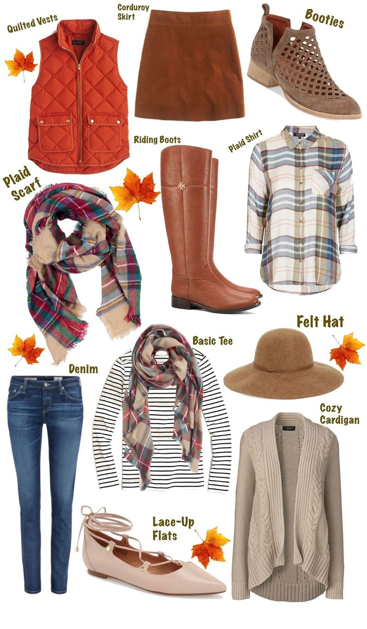 Fall Essentials ~ Something Delightful Blog