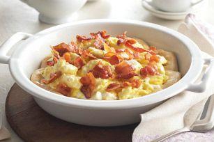Pastel de huevos con tocino Receta - Comida Kraft