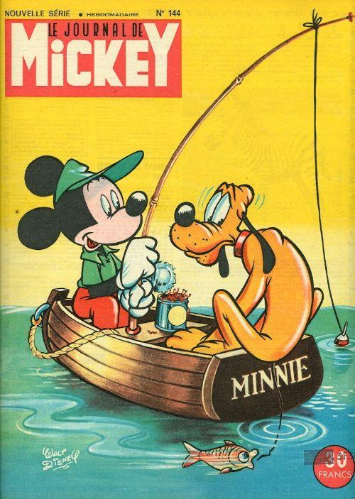Mickey (Le Journal De): je l'ai reçu pendant des années...