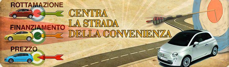 Banner settembre.  Centra la strada .... www.daddario.it