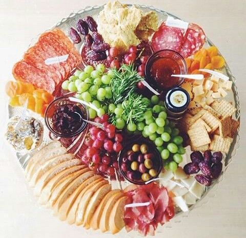 Appetizer platter with some of everything....