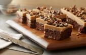 Peanut Butter Fudge Brownie Bars are a yummy mix of Hershey's chocolate and Reese's!!!