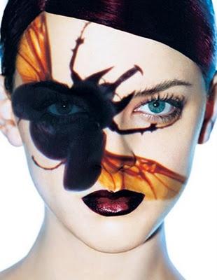 Melvin Sokolsky Face paint
