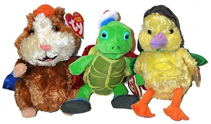 Ty Wonderpets Trio Kit Turtle Tuck Linny Ming Ming Review Teddy Bear Stuffed Animal Wonder Pets Turtle