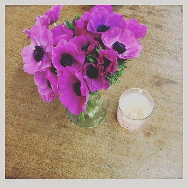Bouquet de la semaine ! Merci Arom, Saber & the team ! #maisongaja #fleurs #sac #bags #handbag #arom