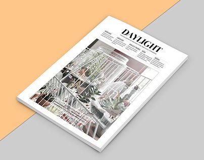 "Check out new work on my @Behance portfolio: ""Daylight Magazine"" http://be.net/gallery/32122091/Daylight-Magazine"