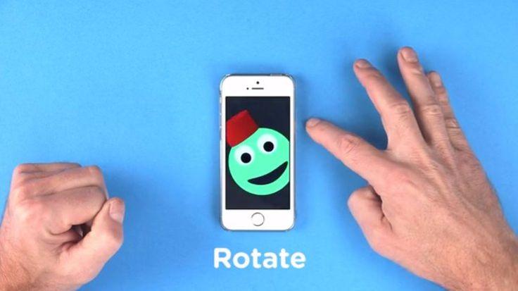 iPhone(スマホ)本体に触らずにマルチタッチやジェスチャをサポートするFuffrの赤外線ケース