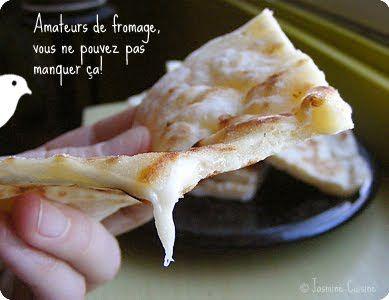 idem pain indien naan fromage http://jasminecuisine.blogspot.com/2010/03/khachapuri.html