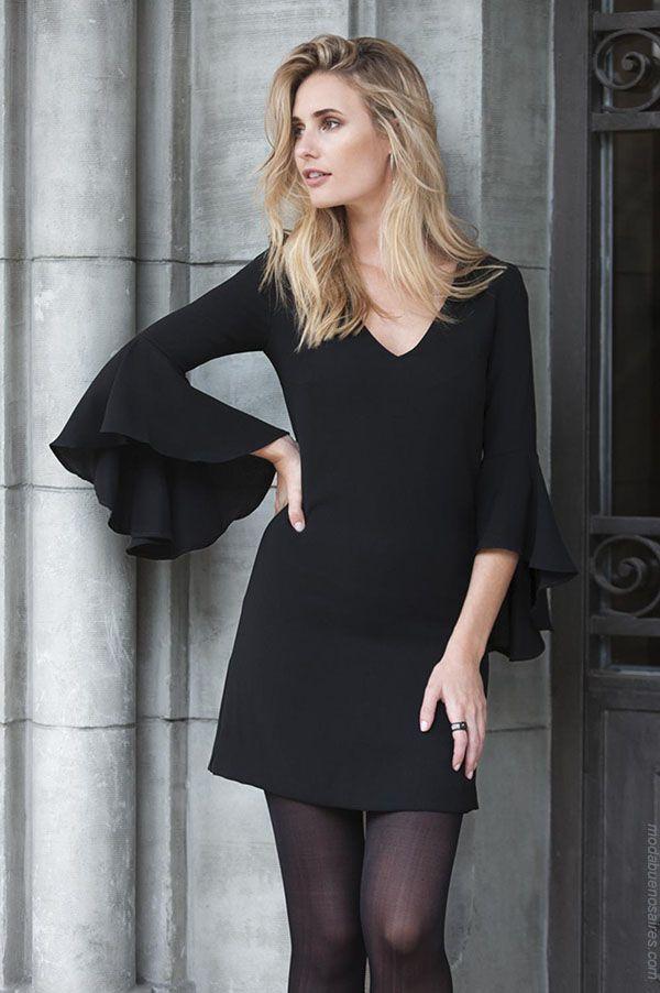2306f9f90b Moda vestidos otoño invierno 2018 ropa de mujer.