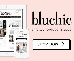 BluChic - Feminine Chic WordPress Themes