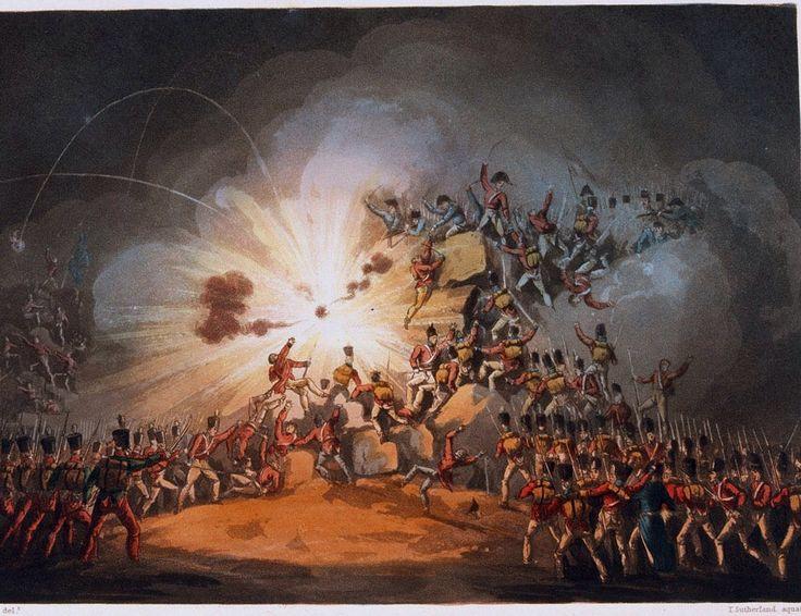 The Storming of Ciudad Rodrigo 8th - 19th January 1812.