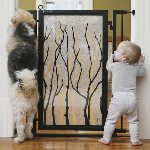 Dog & Baby Safety Gates for Indoor Use   Home Decor   Fusion Gates