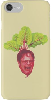 The Office: Dwight Schrute Beet iPhone 7 Cases