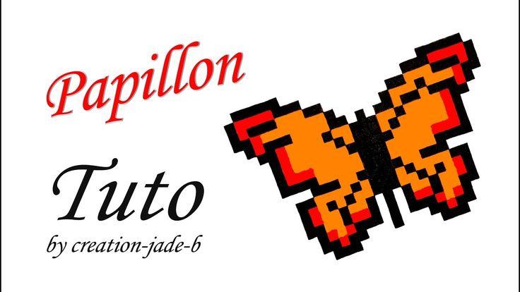 Tuto Pixel Art - Papillon (Format Fiche Bristol) !