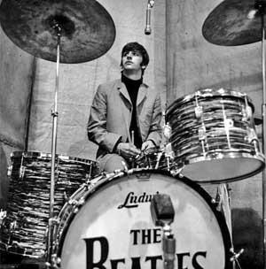 Ringo Starr With Ludwig The Beatles Ringo Starr Drums