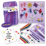 I got this quilling kit. Perfect for the beginner.