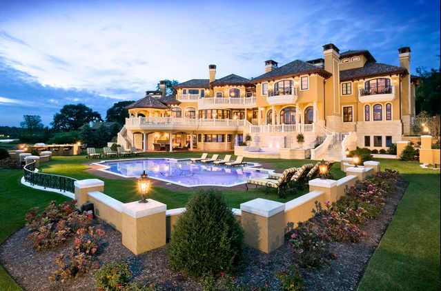 Million Dollar Living Rooms | Foot Waterfront Mansion In Rumson, NJ Shown On Million Dollar Rooms ...