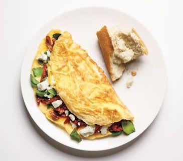 omelet sun dried tomato egg sandwich sun dried tomato hummus sun dried ...