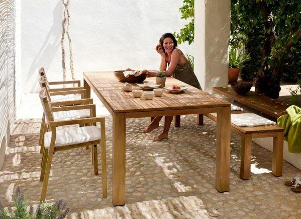 Kos Teak Tables Melbourne Sydney Brisbane Cosh Living Teak Table Teak Outdoor Tables