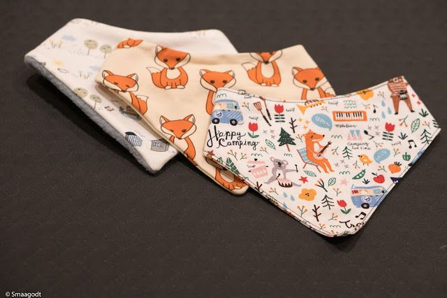 Sy en smekke Easy bib sewing pattern