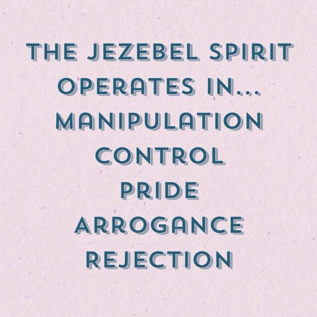 The Jezebel Spirit Operates