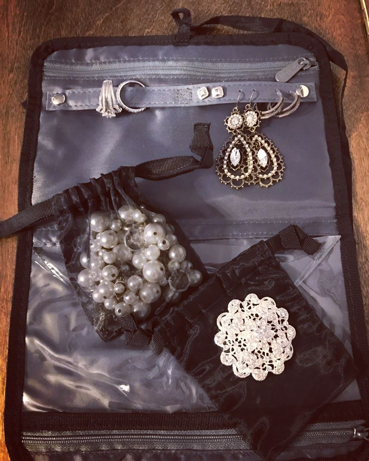 shine on jewelry case great for travel and practical