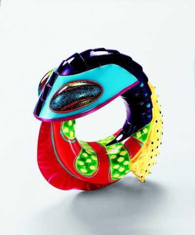 Peter Chang Bangle: 1998 Acrylic, Polyester
