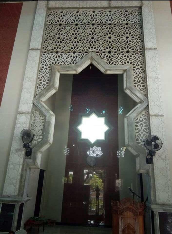 Pin oleh PT ADIRAHMA HARAPAN JAYA GRC di Mihrab mesjid grc ...